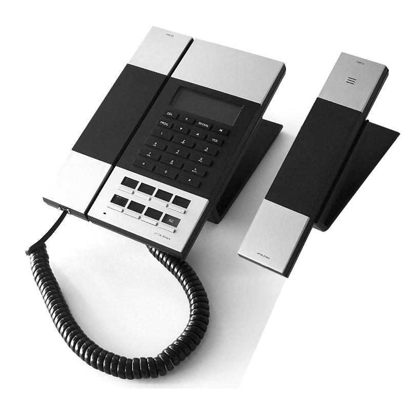 jacob jensen ip60d sip phone with hs20d cordless extension unit origin. Black Bedroom Furniture Sets. Home Design Ideas